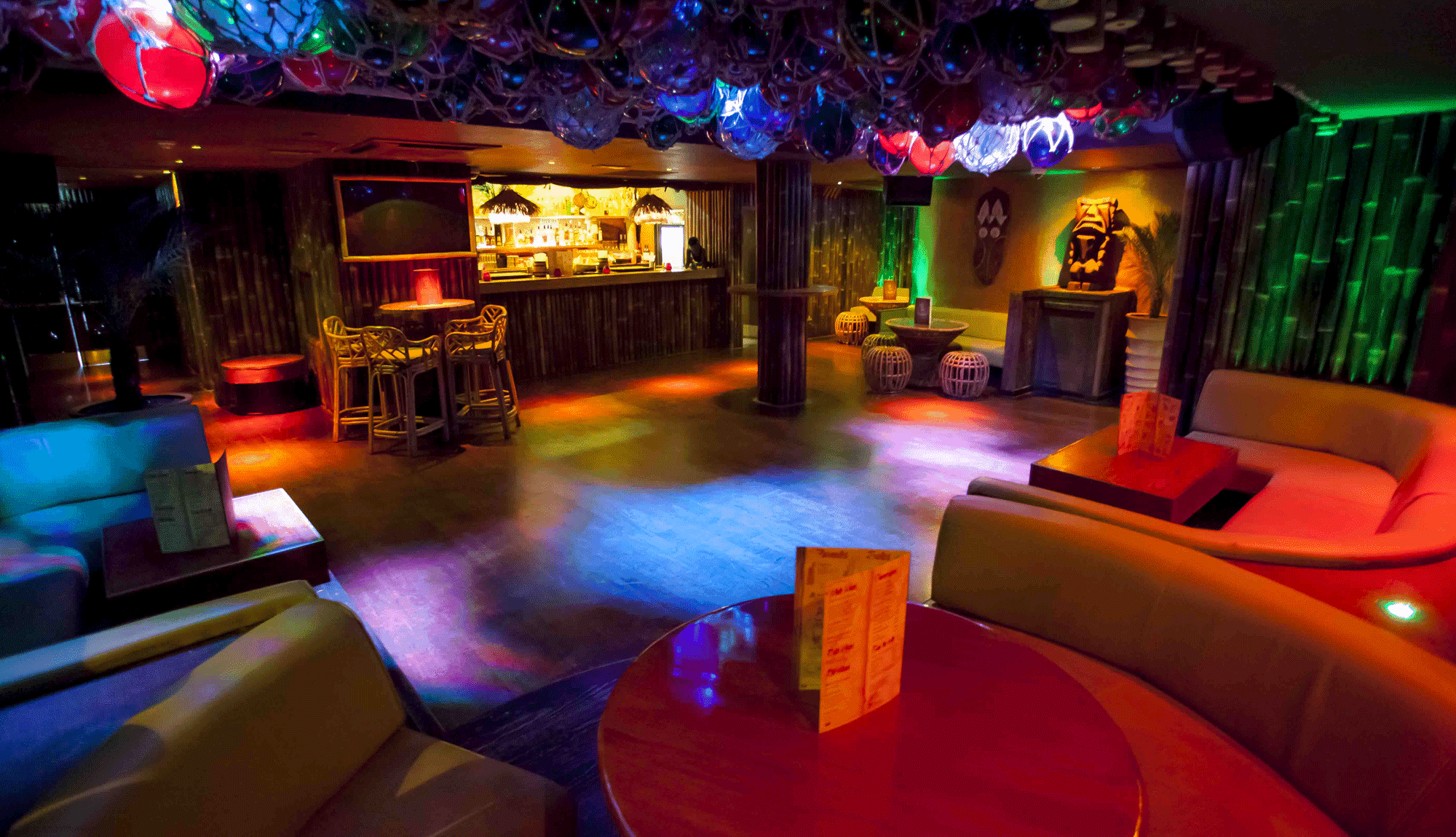 Tropical Bar in the City