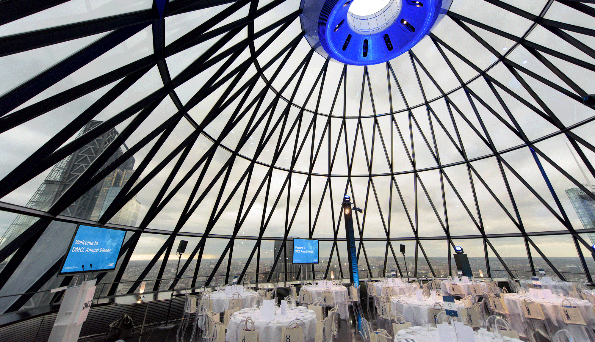 Annual Dinner at the Gherkin