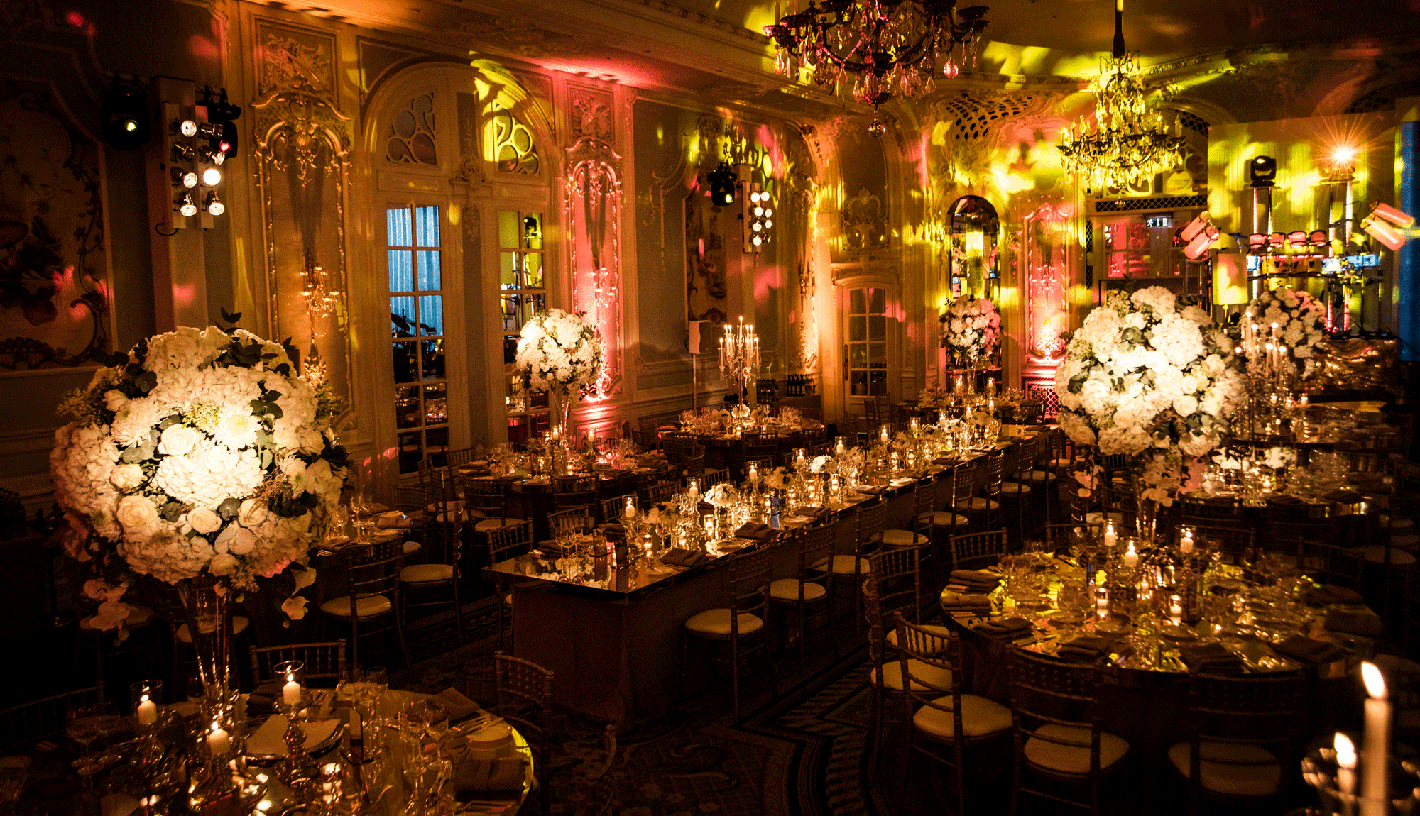 Candlelit Wedding at the Savoy Hotel
