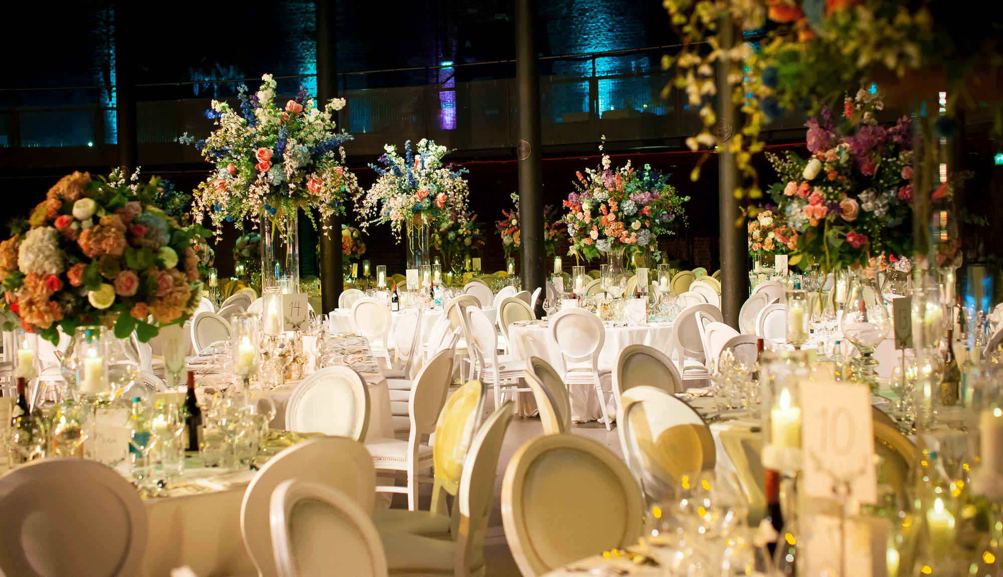 English Garden Wedding at the Roundhouse