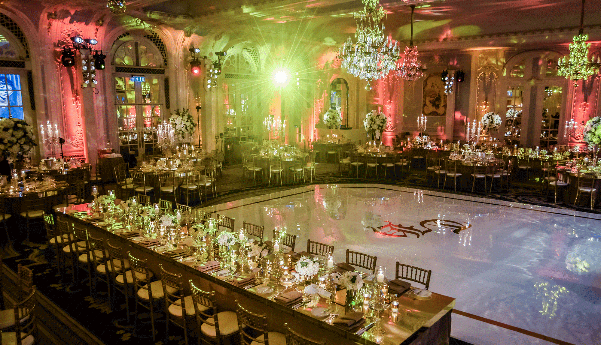 Stunning Barmitzvah at the Savoy