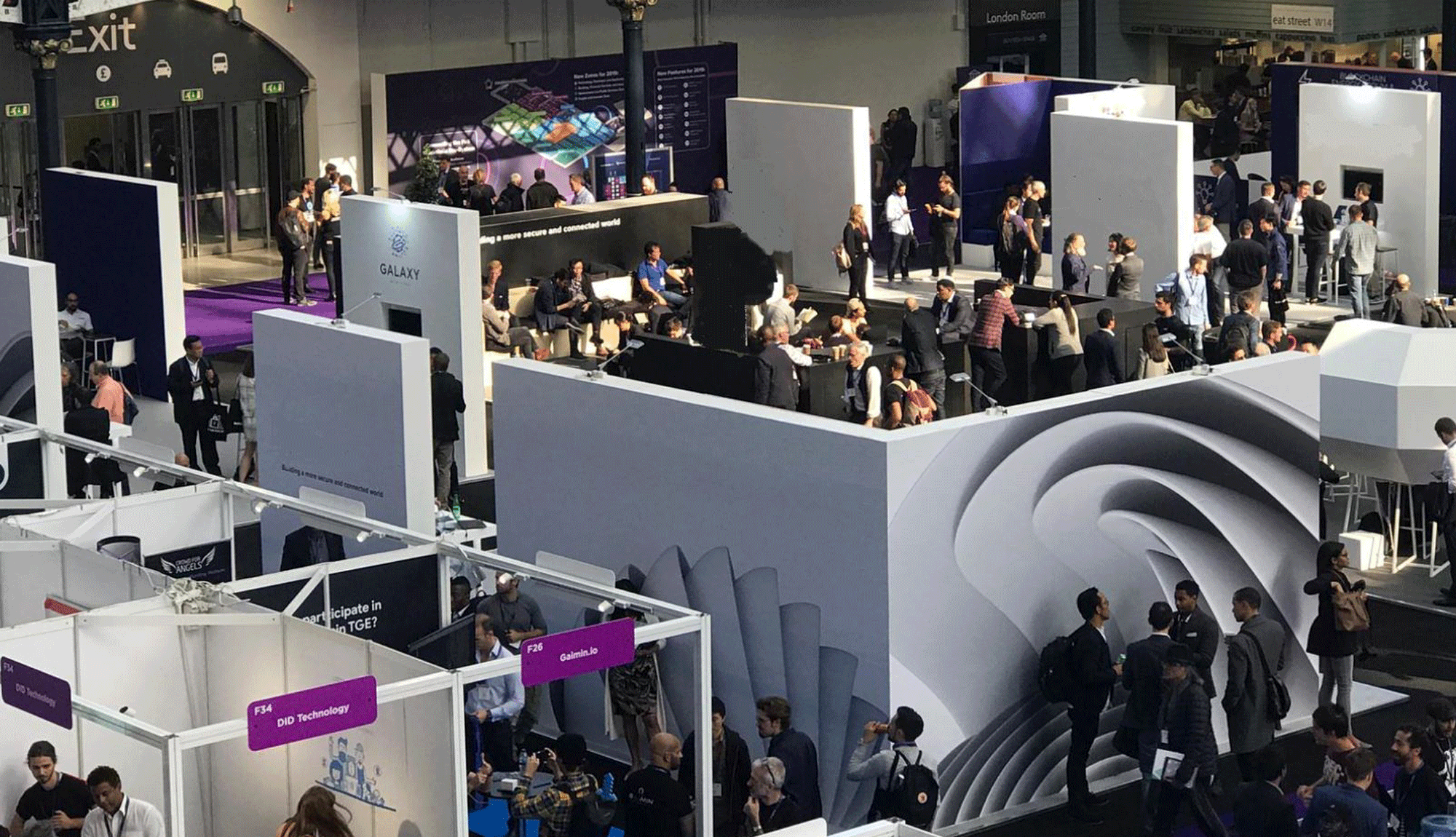 Tech Village install at Olympia