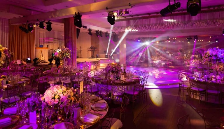 Gold and Glamorous Wedding at The Grove